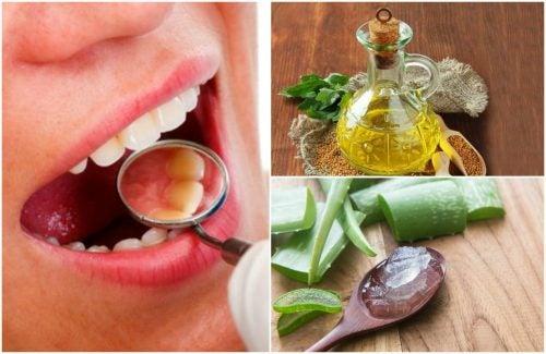 Cómo eliminar el sarro de los dientes con 6 remedios caseros