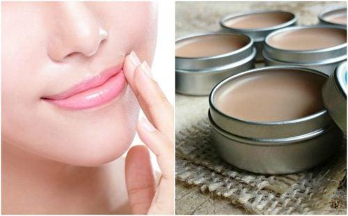 Cómo preparar una crema casera para proteger la piel de los labios