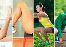 Cómo trabajar tus piernas desde la comodidad de casa