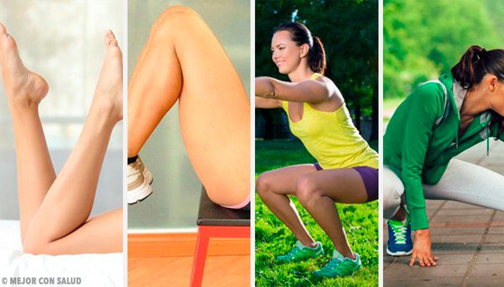 ¿Cómo trabajar tus piernas desde la comodidad de casa?
