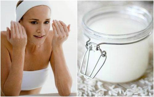 Loción casera para eliminar el brillo de tu cara