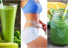 Descubre cómo preparar 5 jugos verdes para adelgazar