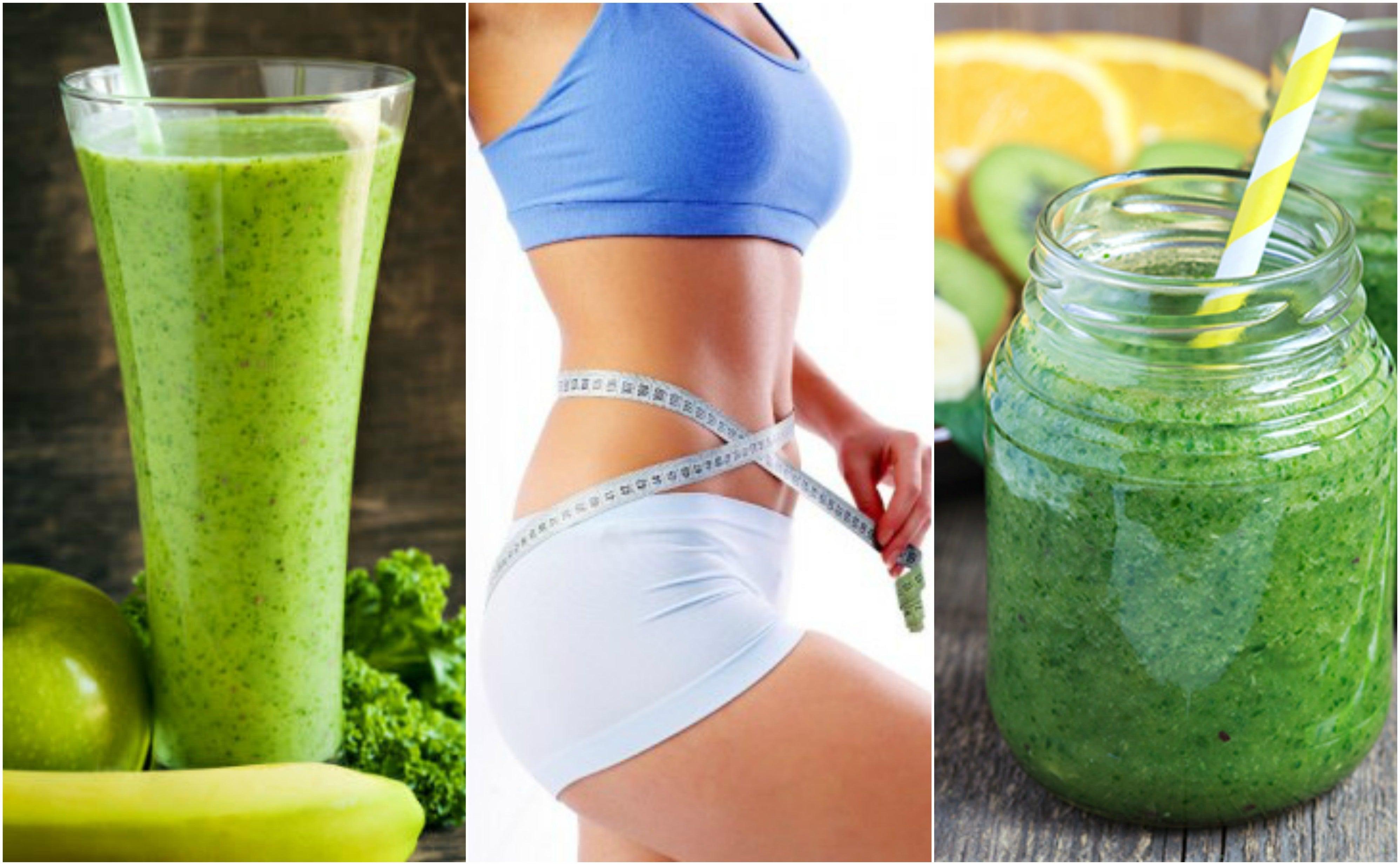 Descubre cómo preparar 5 jugos verdes para bajar de peso