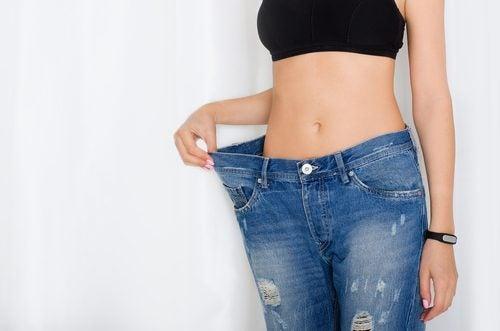Disminución de peso