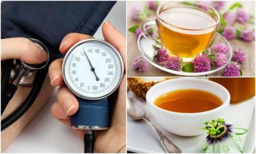 Mejora tus problemas de presión alta con infusiones naturales