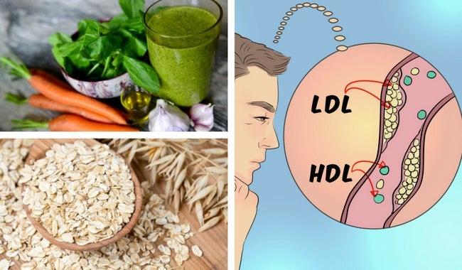Limpia las arterias del colesterol con 5 remedios caseros