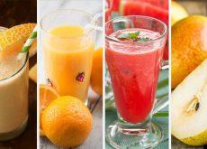 Los 5 zumos más refrescantes para el verano