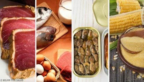 Los 6 alimentos que tienen más toxinas. ¿Los conocías?