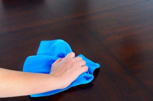 Paños de limpieza con camisetas