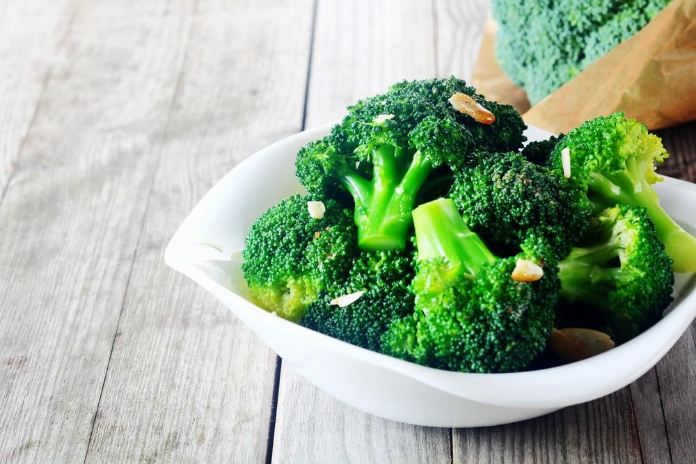 Plato de brócoli.