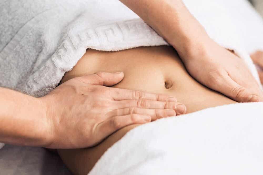 Masaje barriga