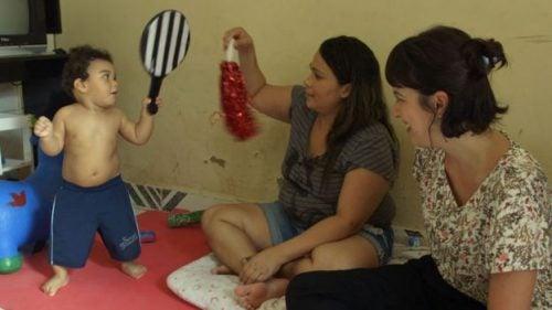 Joao Miguel niño con síndrome de Zika
