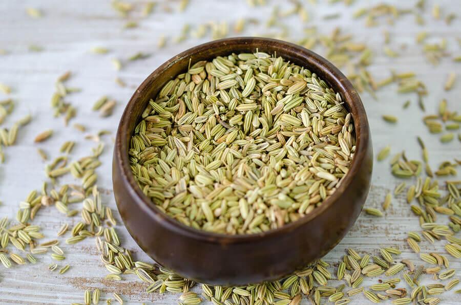 Infusión de semillas de hinojo