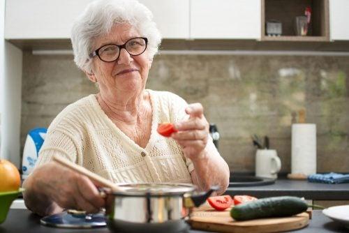 Sopa hecha por abuela