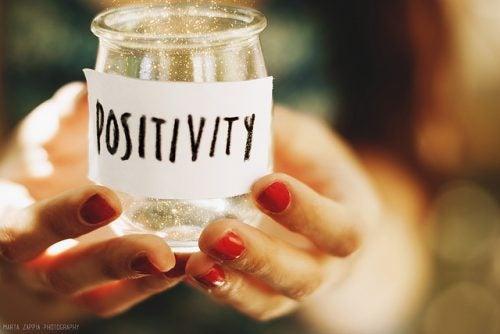 tarro de positividad