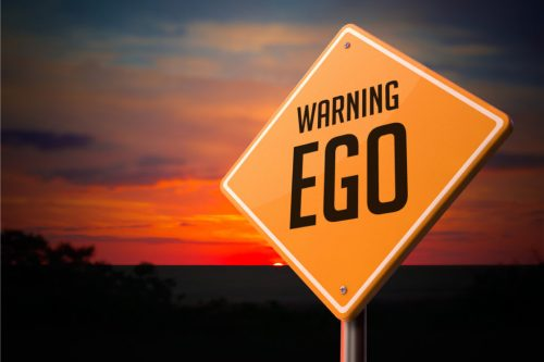 El ego puede convertirse en algo peligroso