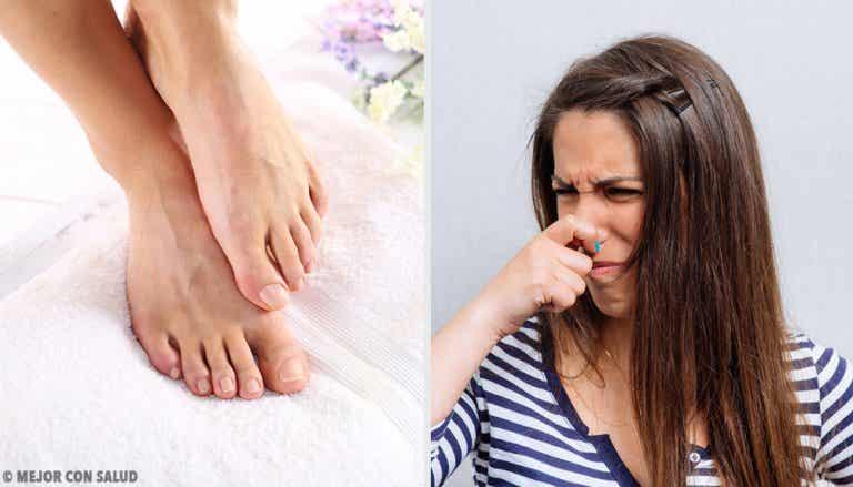 11 maneras de deshacerte del mal olor en los pies