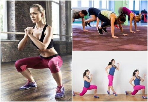 5 ejercicios para mantenerte en forma