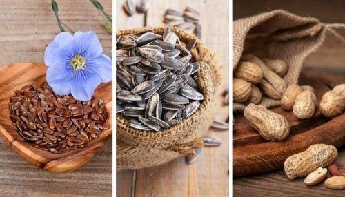 Semillas para dieta saludable