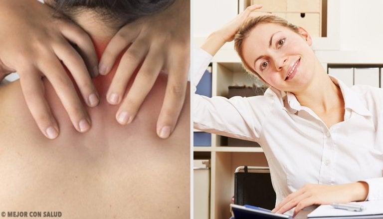 6 sencillos ejercicios que aliviarán el dolor de cuello