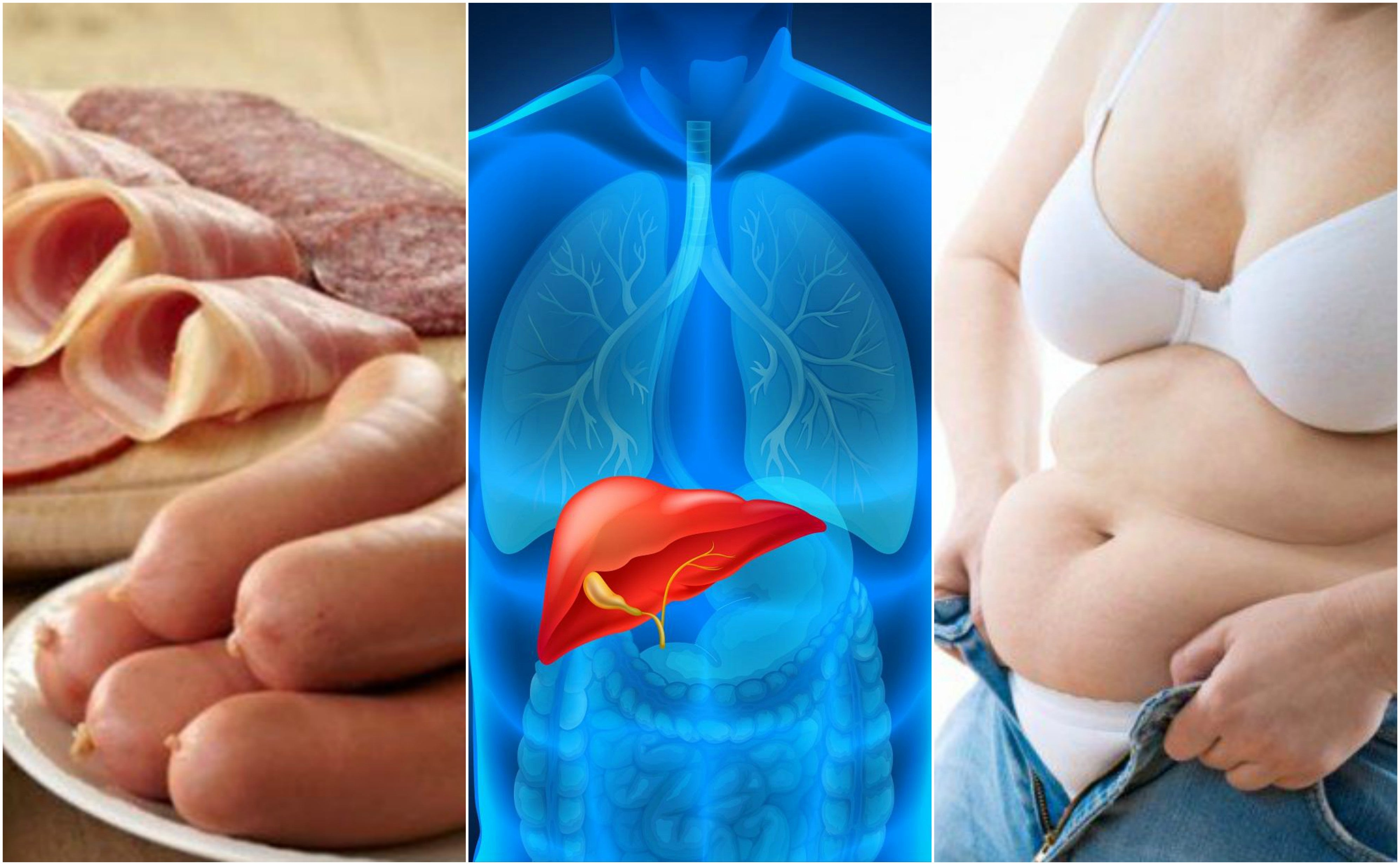 7 cosas que afectan la salud del hígado sin beber alcohol