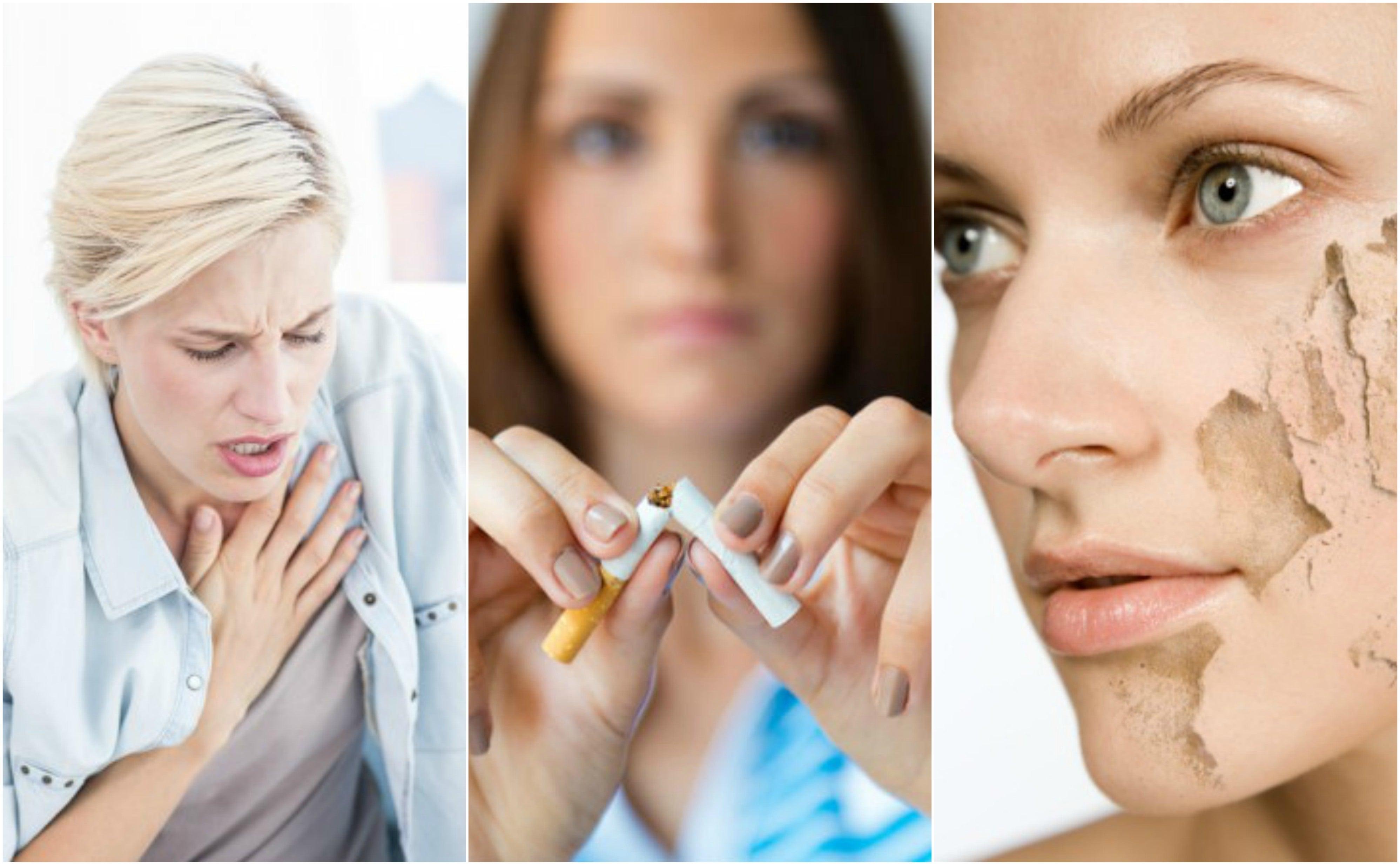 Razones que te ayudarán a dejar de fumar