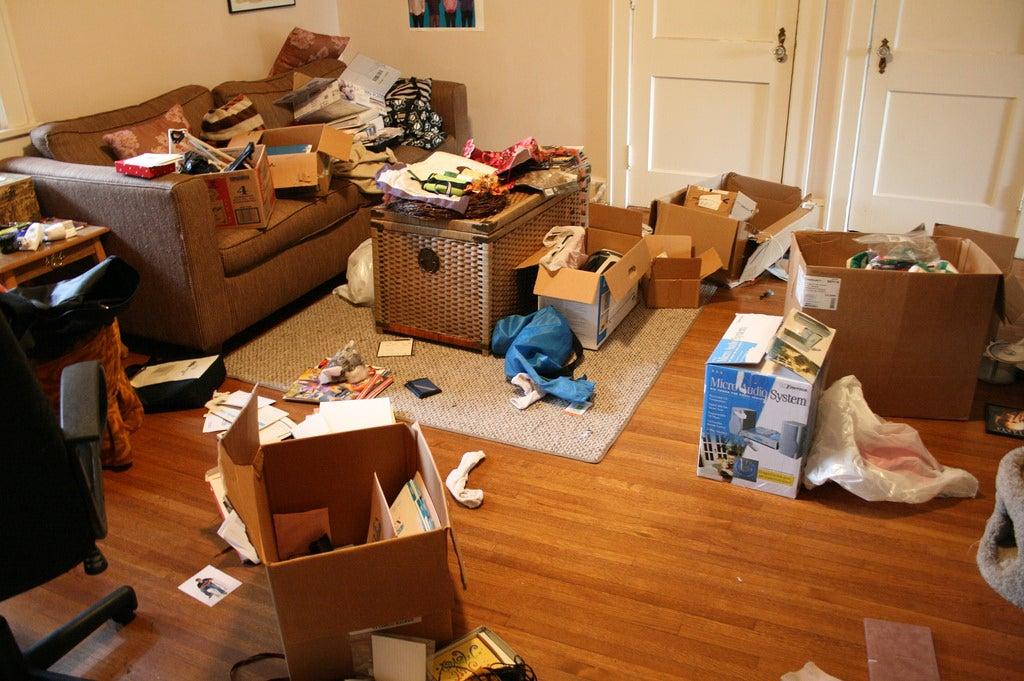 No acumules para tener la casa ordenada