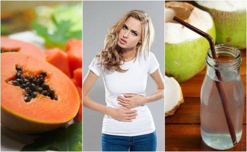 Alivia los síntomas de la gastritis consumiendo estas 7 frutas