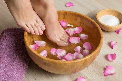 Aumentar la circulación en los pies