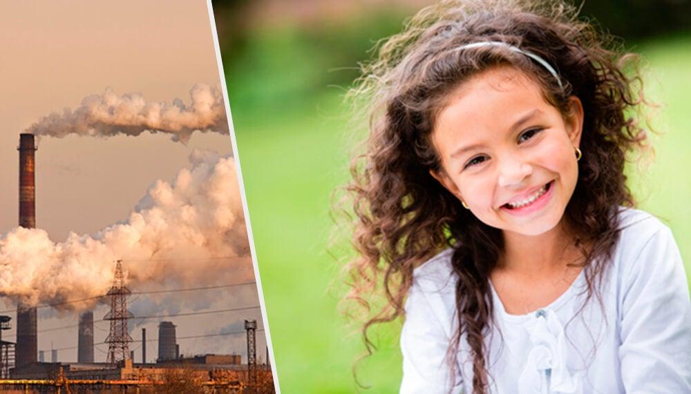 Cómo afecta la contaminación el cerebro de los niños