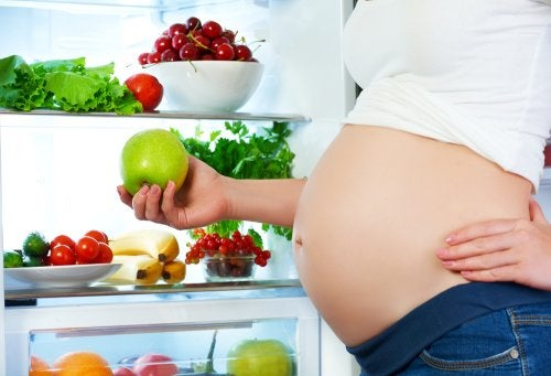 Cómo alimentarse durante el embarazo