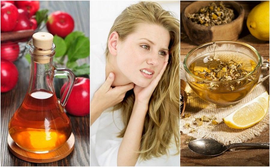 Cómo aliviar la amigdalitis con 5 remedios de origen natural