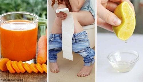 Cómo combatir la diarrea