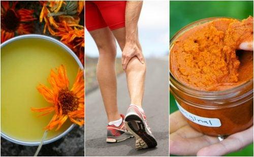Cómo preparar 3 cremas antiinflamatorias para calmar los dolores musculares