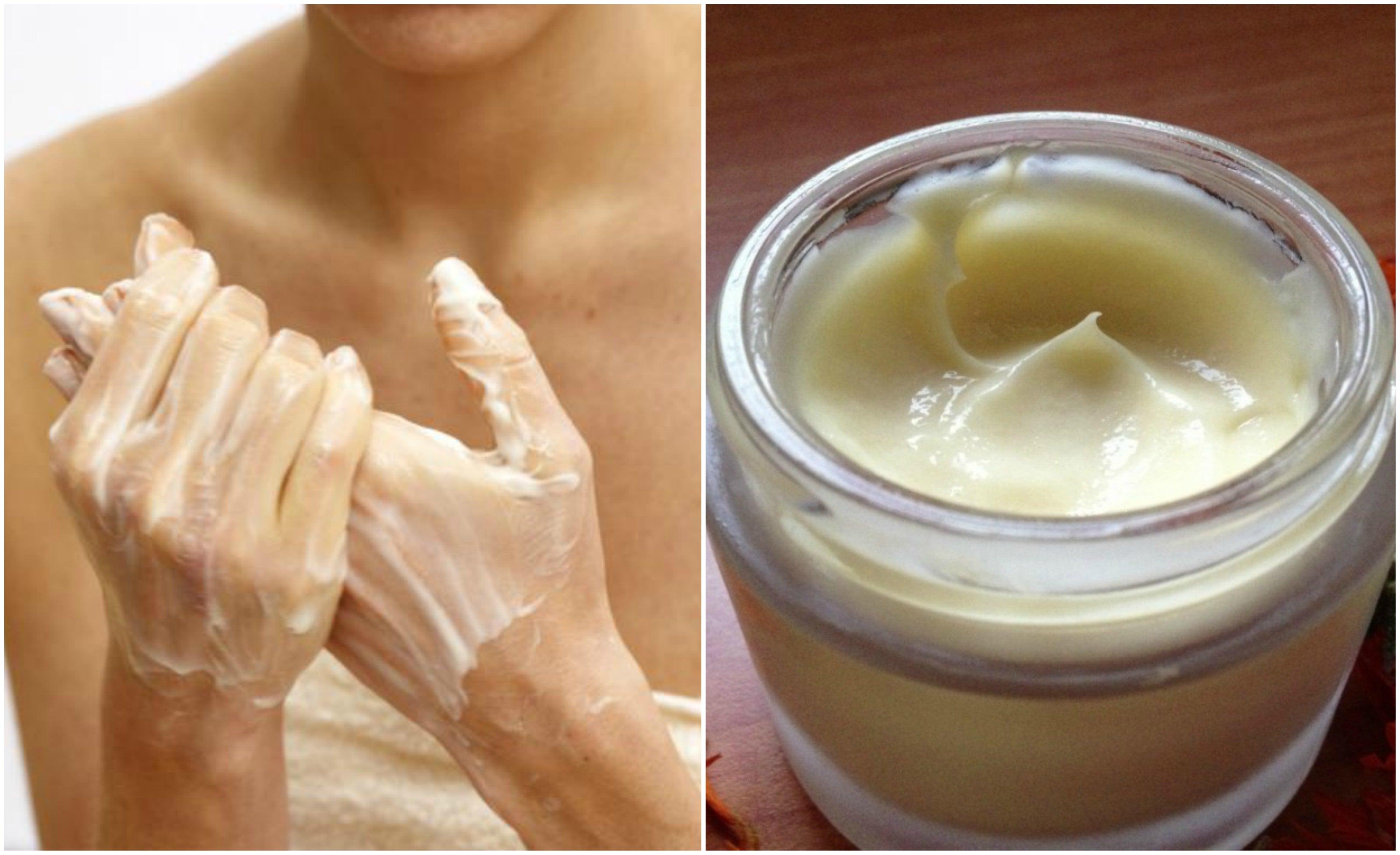 cremas caseras para humectar el cuerpo