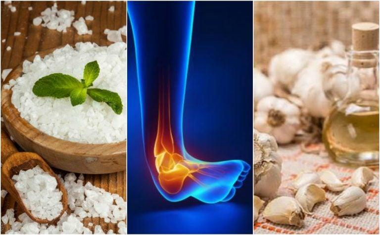 Calma el dolor del esguince de tobillo con estos 5 remedios naturales