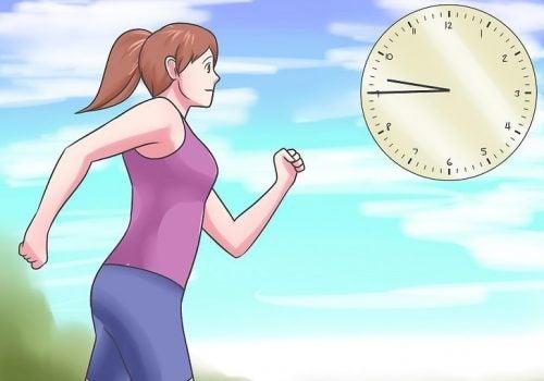A partir de que minuto se empieza a quemar grasa