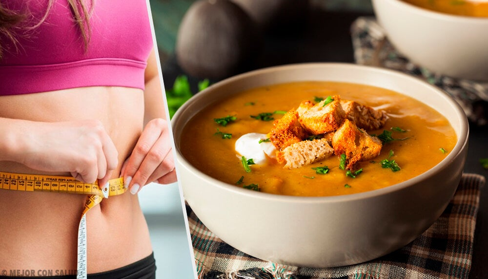 Descubre la dieta de la sopa quemagrasa.
