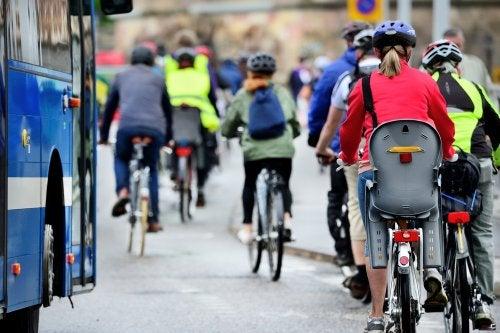 La ciudad y el ciclista