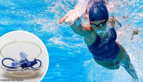 La protección de los oídos al nadar