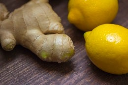 Limones y jengibre
