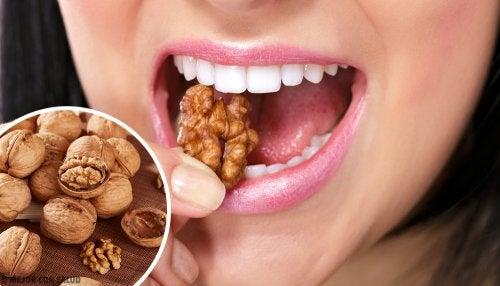 Resultado de imagen para ingesta de nueces