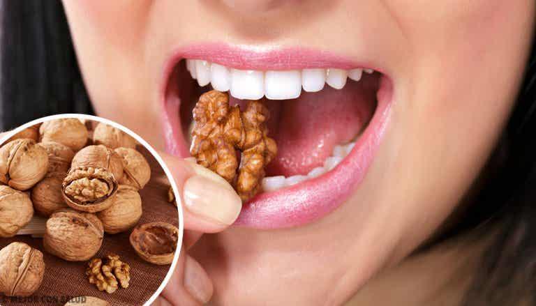 Los beneficios del consumo de nueces para nuestro estómago