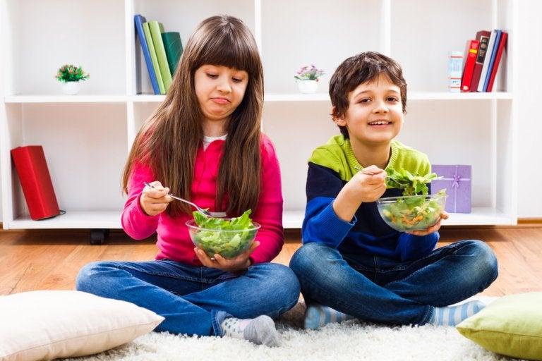 Mi hijo no toma fruta y verdura, ¿qué hago?