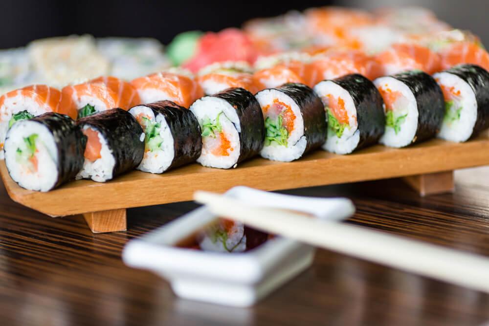 Sushi y otros enrollados