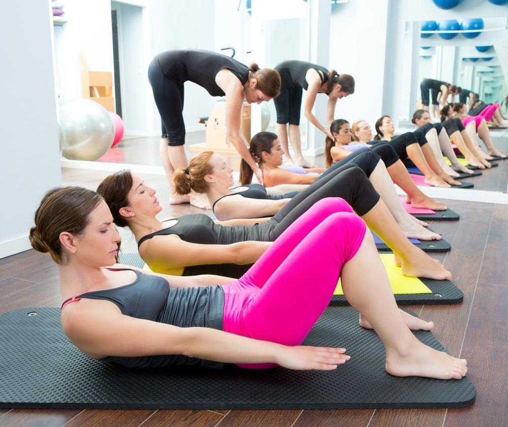 espacio para practicar yoga