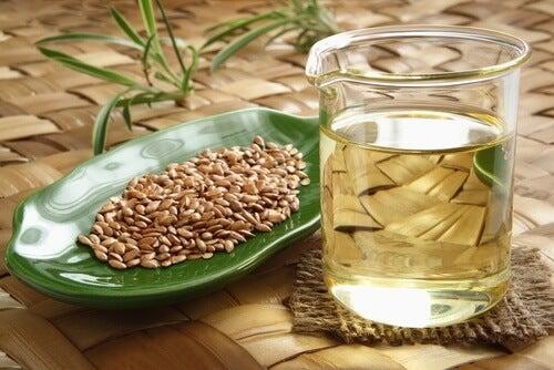 El agua de linaza puede ser beneficiosa para la salud.