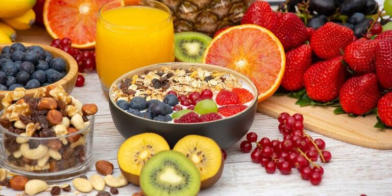 Alimentación saludable para empezar un día lleno de energía