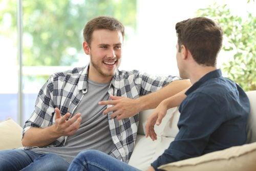 lenguaje positivo con los amigos