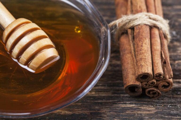 8 beneficios medicinales de la mezcla de canela y miel